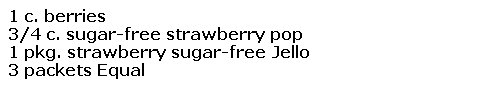 strawberry jam for diabetics